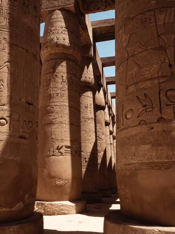 Ma vocation précoce pour l'égyptologie